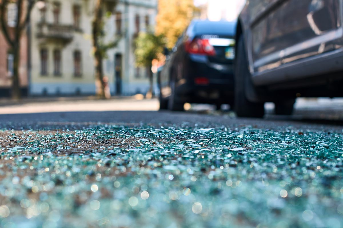 A crash left three people injured April 27, 2021, in Evergreen Park.