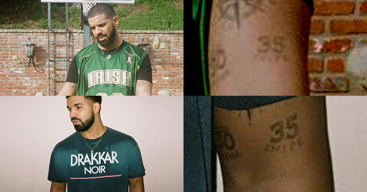 Does drake really have stephen curry and kevin durant for Does steph curry have tattoos