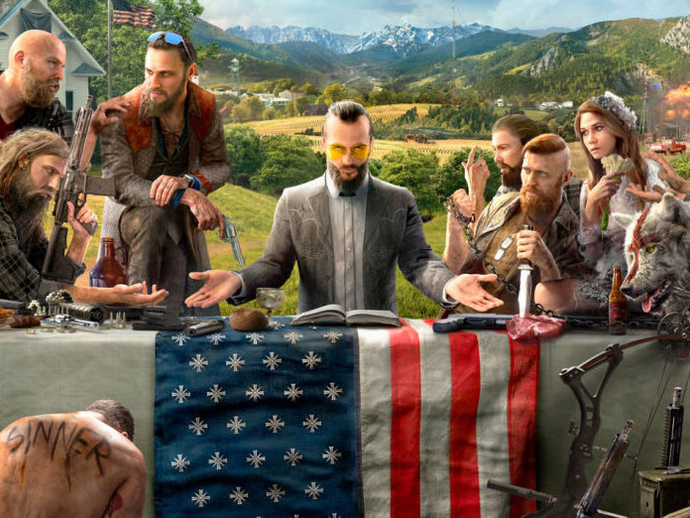 Far Cry 5 S Gameplay Trailer Introduces The Resistance The Verge