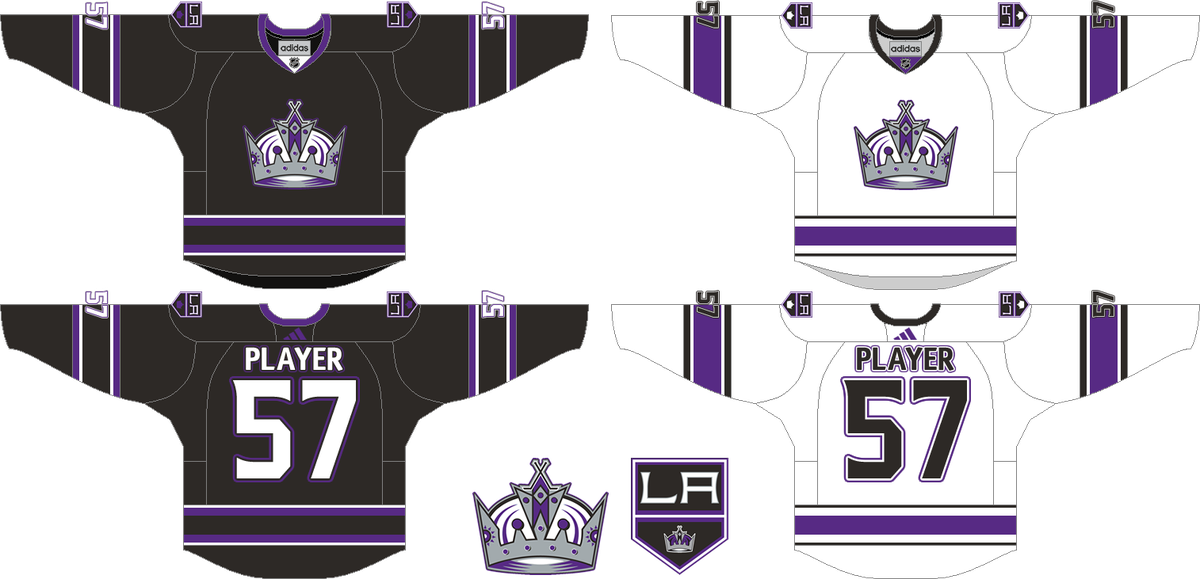 innovative design e6906 93d12 Let's remake some NHL Jerseys before Adidas does! - Stanley ...