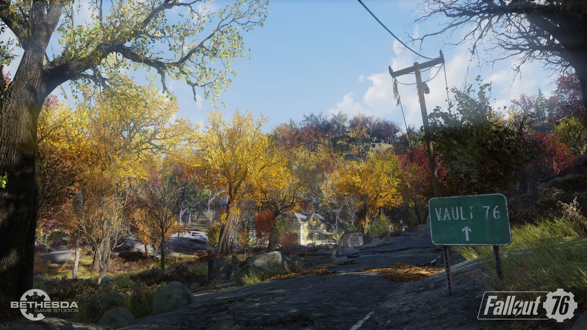 Fallout 76 beta - the road to Vault 76