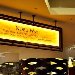Cleopatra Way is now Nobu Way at Caesars Palace.