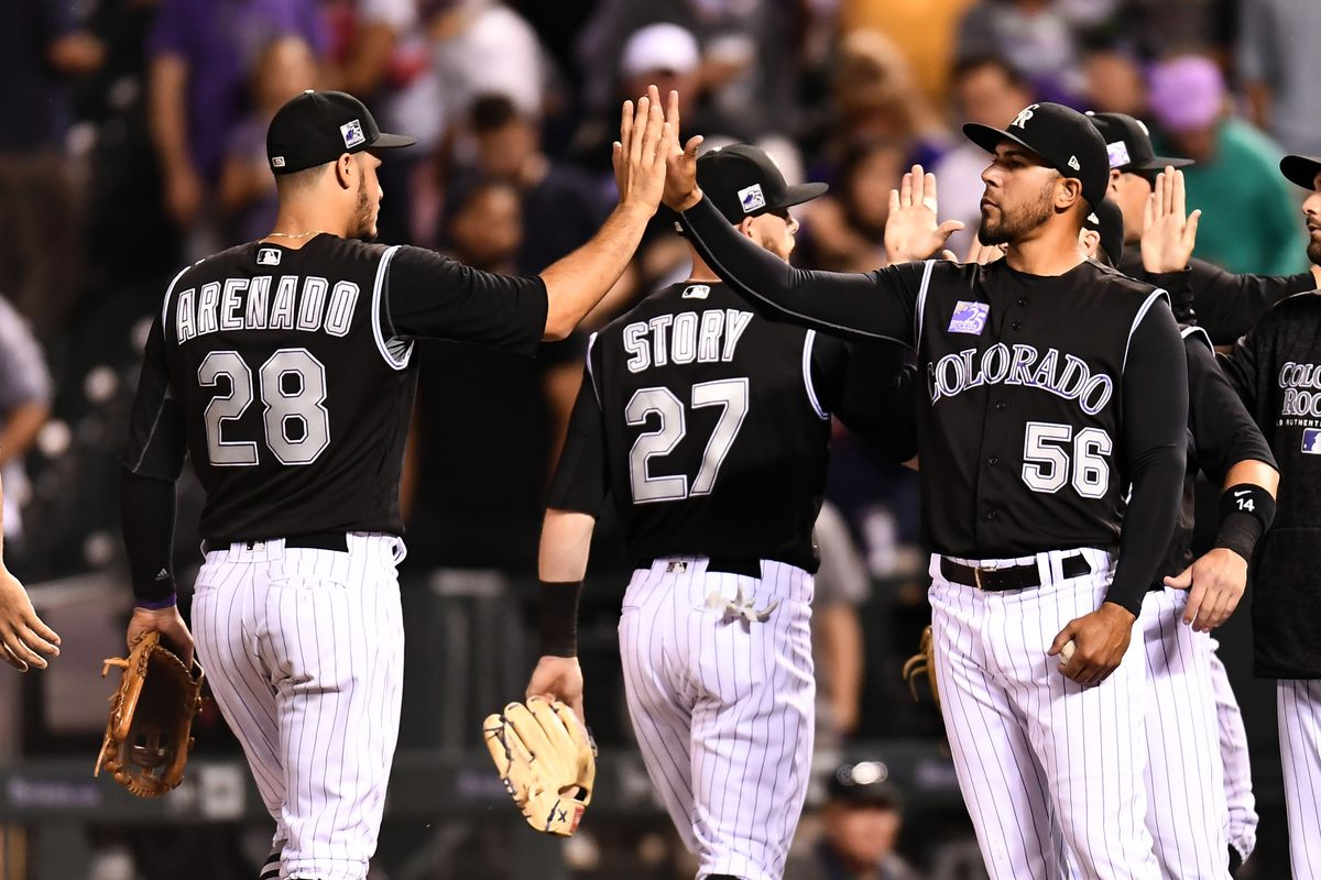 MLB: New York Mets at Colorado Rockies