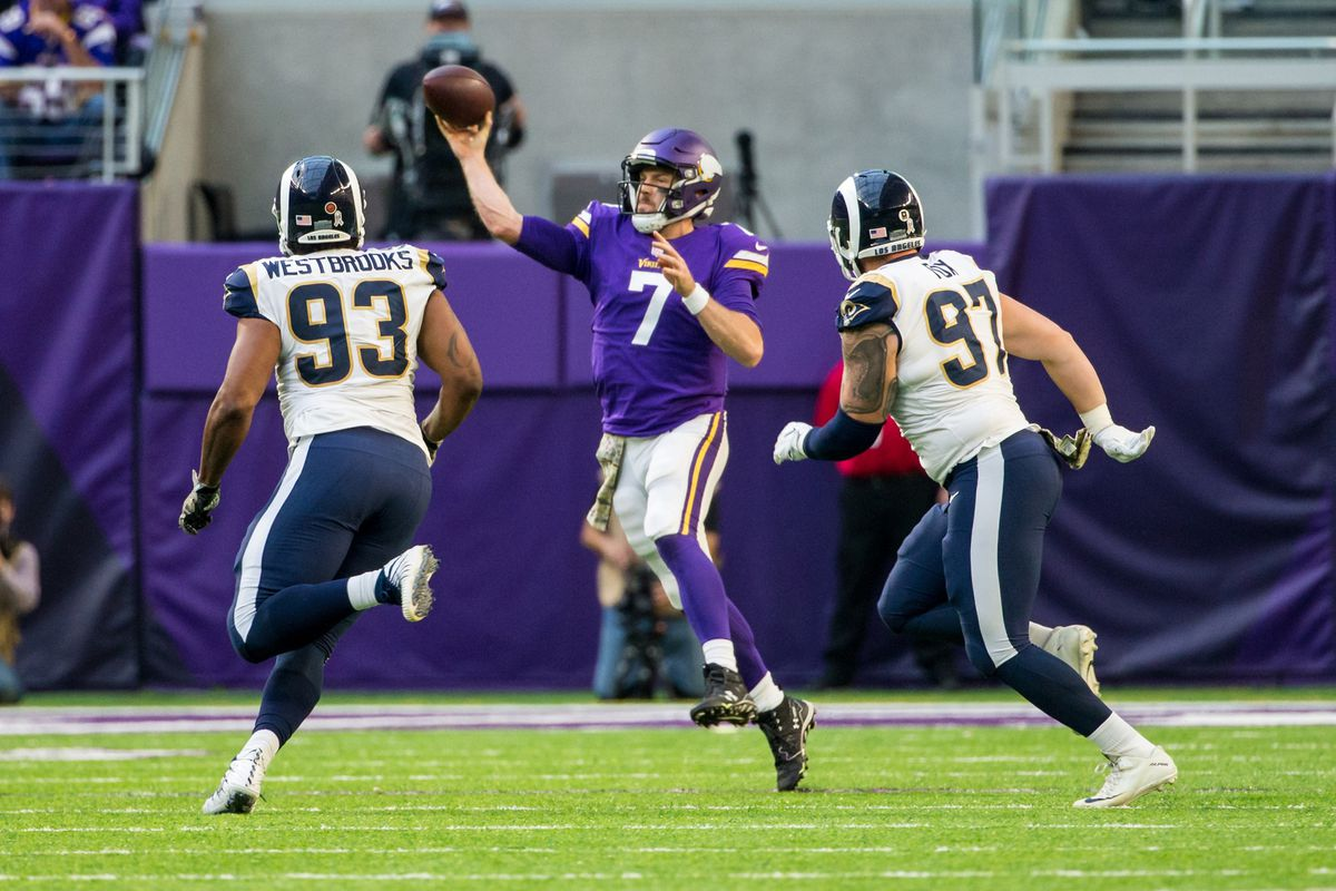 Mike Zimmer confirms it's still Case Keenum's show