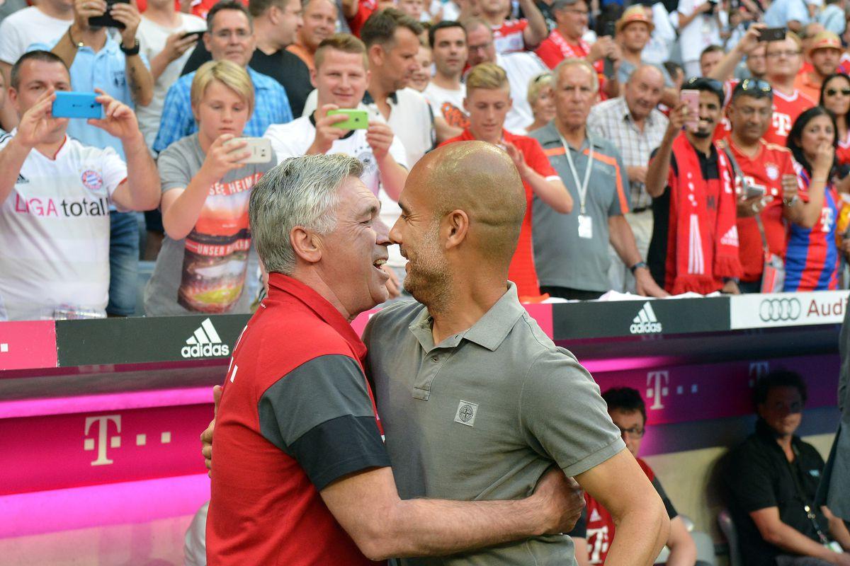 Bayern Munich vs Manchester City - Friendly Match
