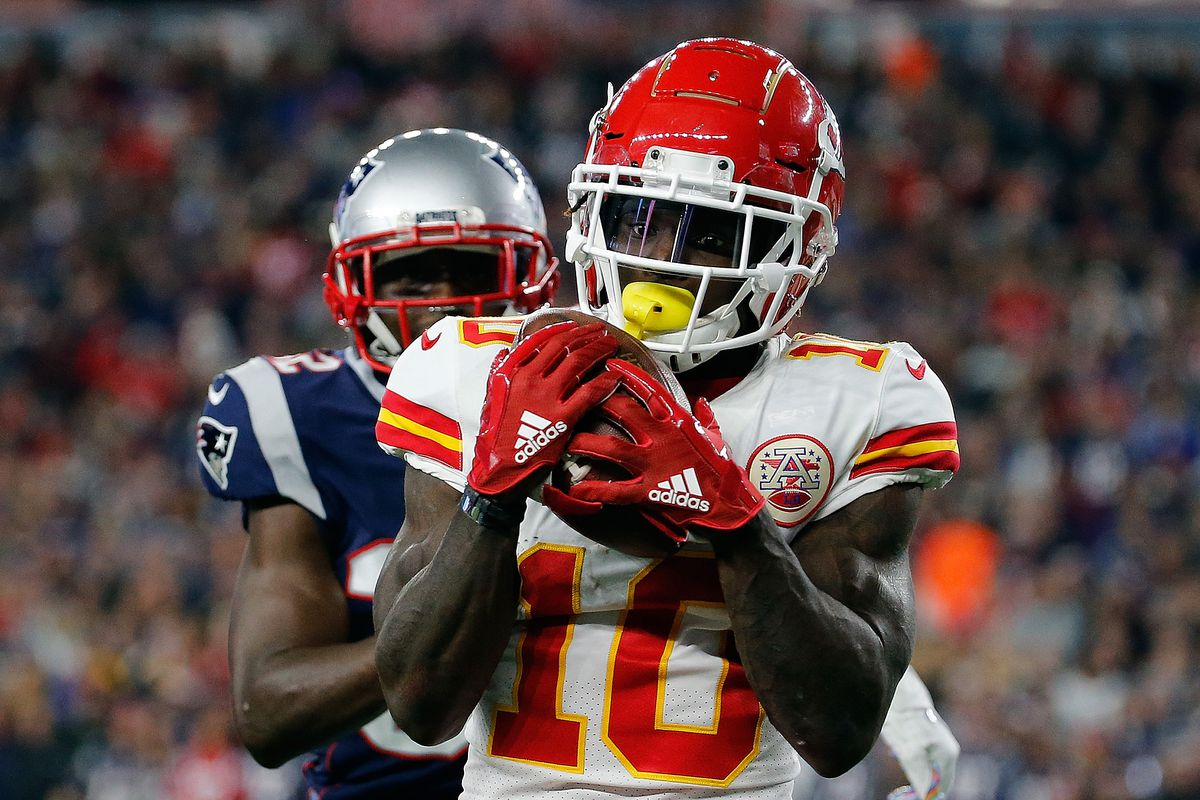 Tyreek Hill among top three receivers for 2018 season, says PFF