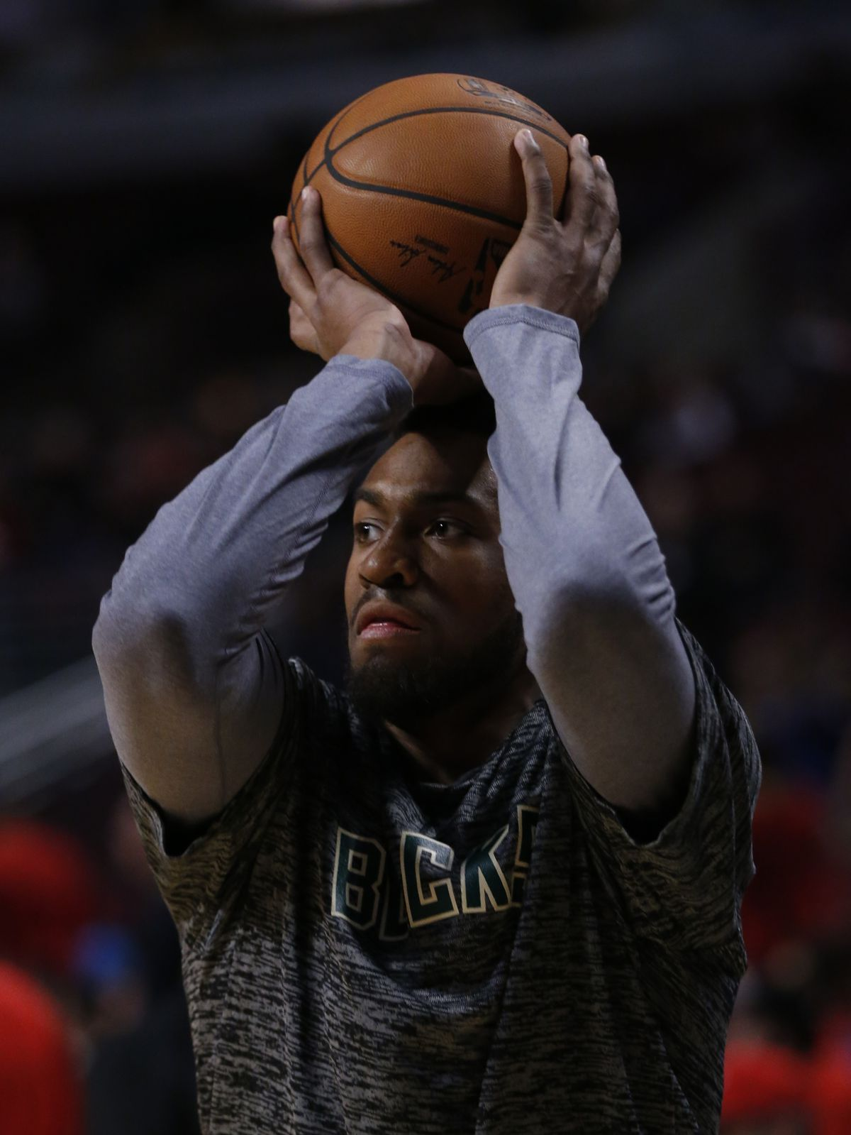 Jabari Parker started his NBA career with the Bucks.