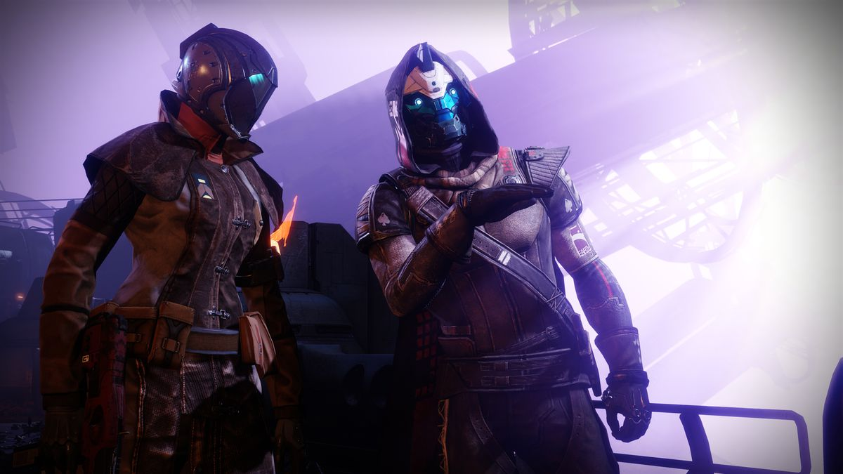 Cayde-6 with guardian - Destiny 2 Forsaken