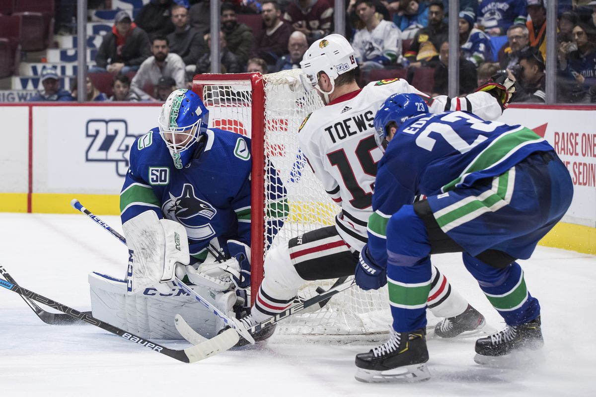 Blackhawks Dominant Against Canucks But Still Lose 5th Straight Chicago Sun Times