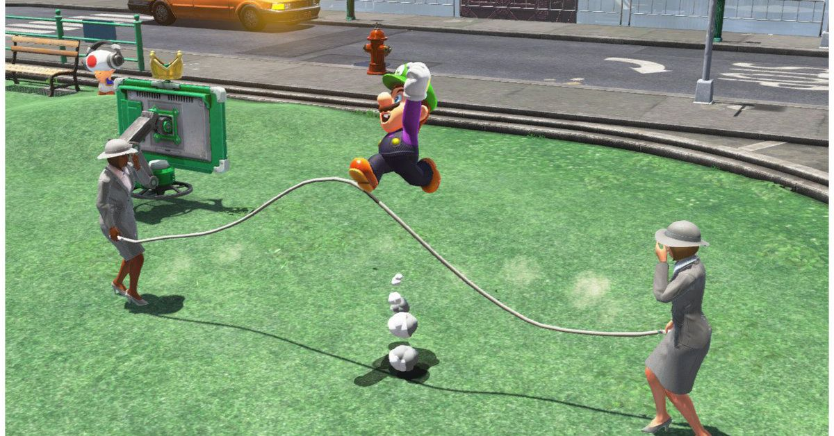 Super Mario Odyssey glitch lets players break jump-rope minigame