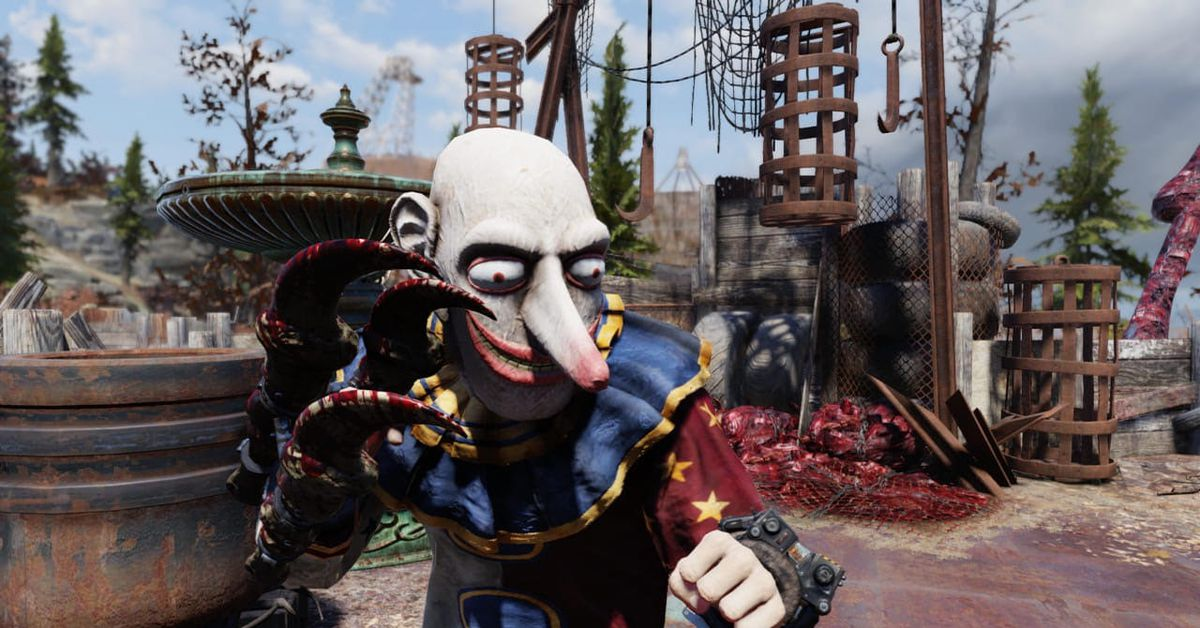 What happened when a Fallout 76 fan pretended to be a beggar
