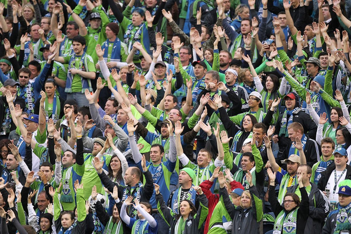 Seattle Sounders fans should feel good about the 2011 MLS schedule. It really doesn't look like the Sounders have that bad of a road ahead.