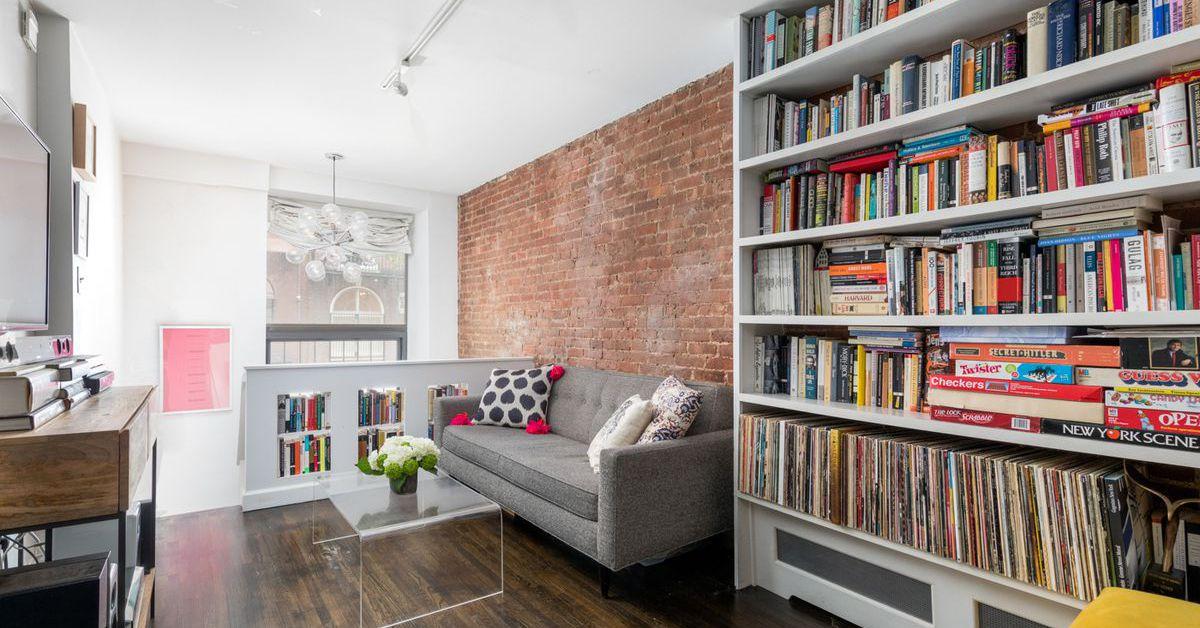 Idyllic west village duplex gets lots of light for 900k for West village apartment for sale