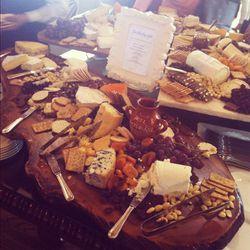 The second thing: a gourmet cheese spread. So far, so good...