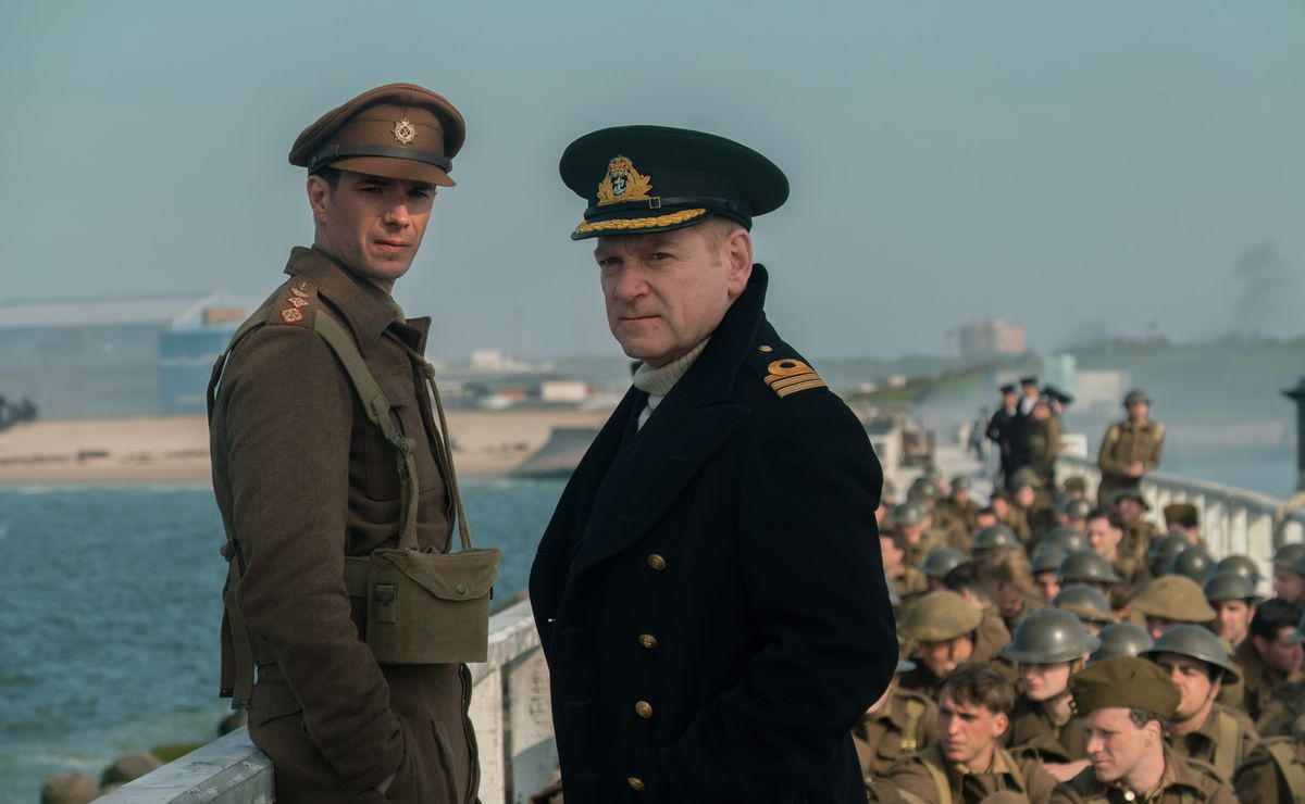 """James D'Arcy and Kenneth Branagh star in """"Dunkirk."""" 