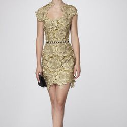 """Elf Queen Couture Lace Dress, <a href=""""http://www.shopnarapaz.com/Elf-Queen-Couture-Lace-Dress-301-800-100.htm"""">$1950</a>"""