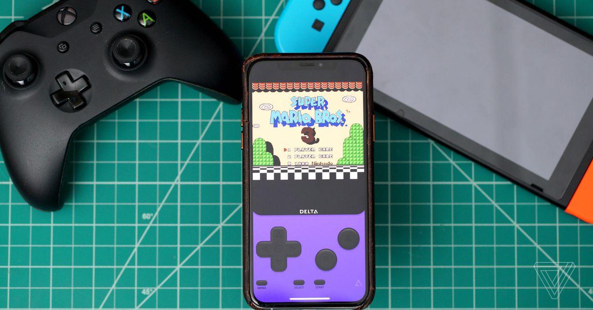 AltStore is an alternative iOS App Store with a built-in Nintendo emulator
