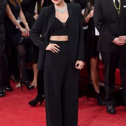 Lorde in Narcisco Rodriguez.