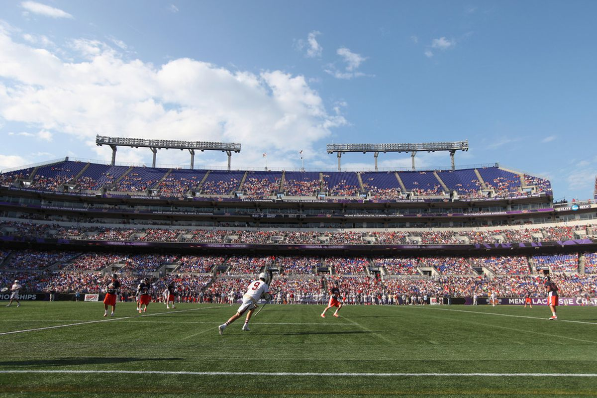 BALTIMORE, MD - MAY 28: General view of the Virginia Cavaliers and Denver Pioneers during the second half at M&T Bank Stadium on May 28, 2011 in Baltimore, Maryland.  (Photo by Rob Carr/Getty Images)