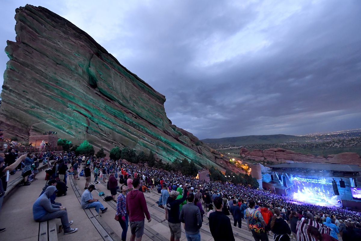 Umphreys McGee In Concert At Red Rocks Amphitheatre