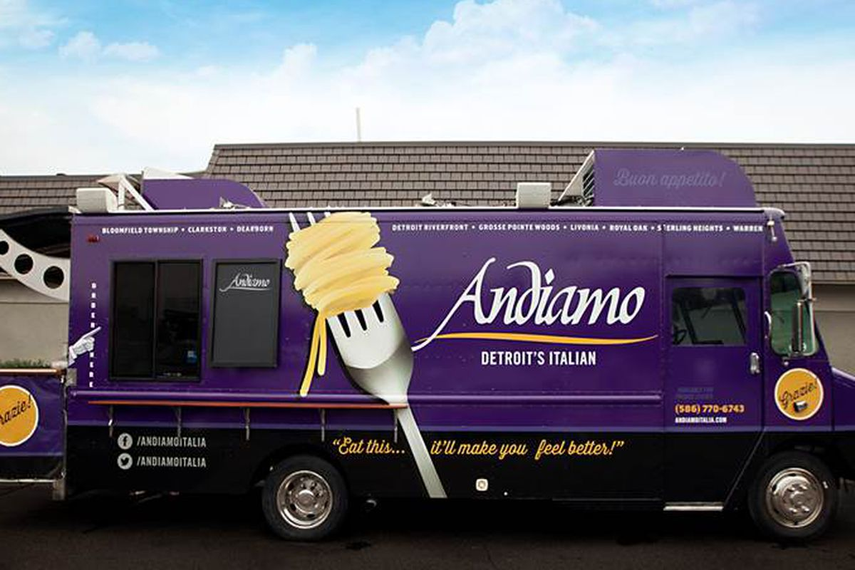 Andiamo food truck.
