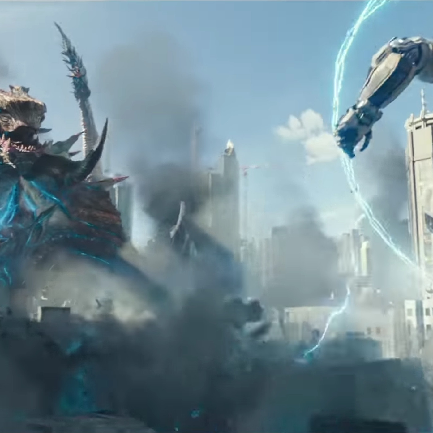 Pacific Rim Uprising S New Trailer Brings With It A Menacing Monster