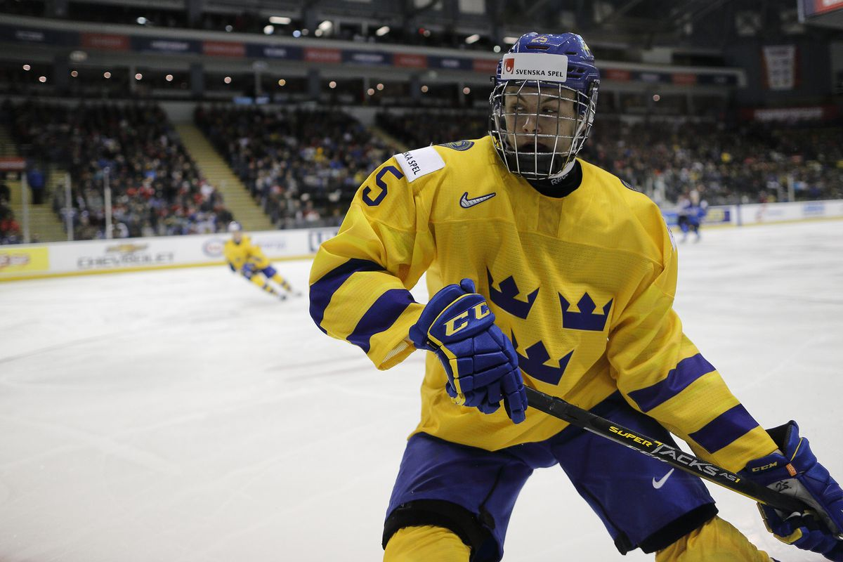 23ab60031df 2019 NHL Draft Profile: Philip Broberg may not be the flashy pick, but  could be the right one