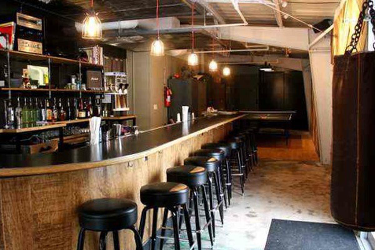 Bar at Victory Sandwich Bar courtesy of Thrillist Atlanta