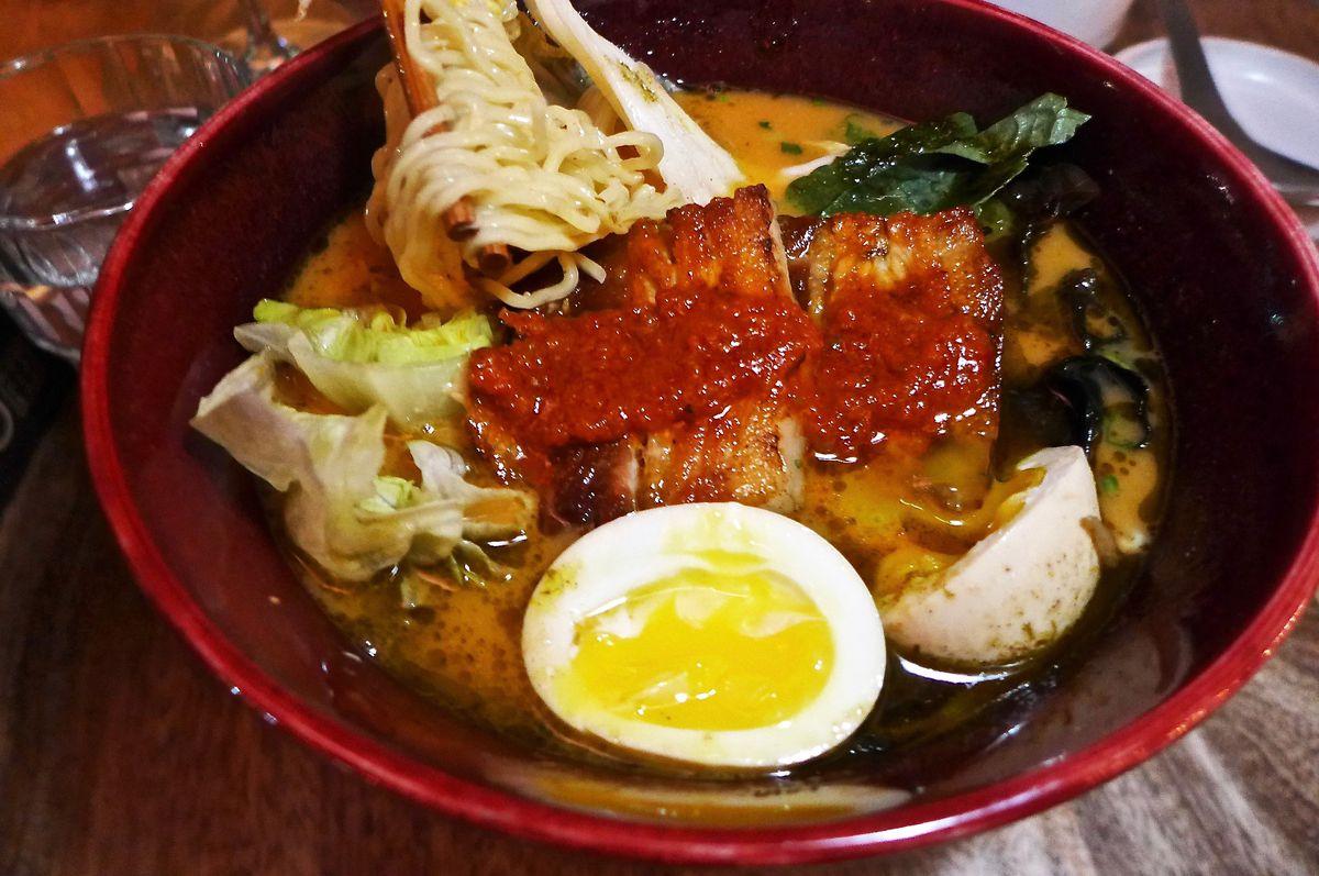 Gochu ramyun at Jeju Noodle Bar