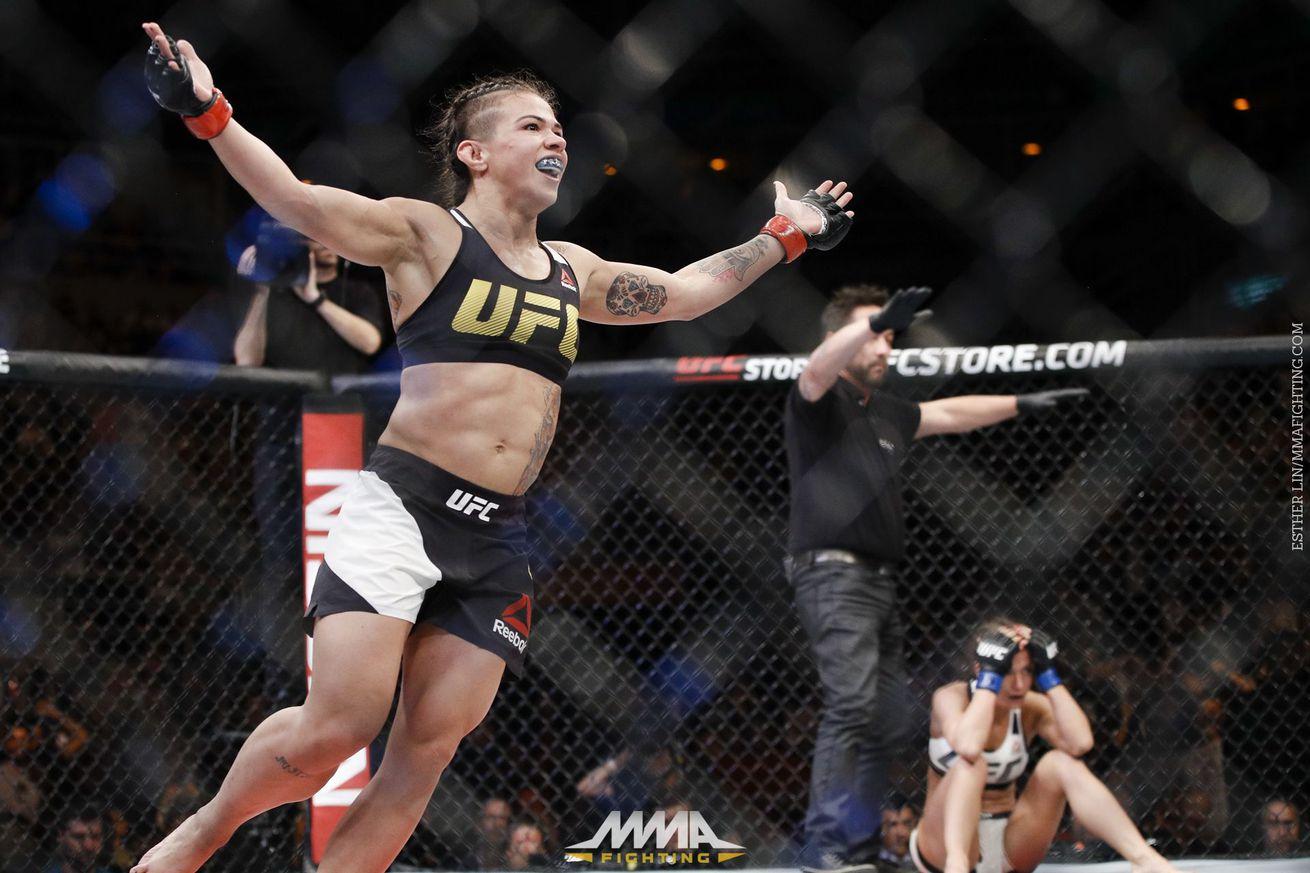 Claudia Gadelha: 'I killed my body' for title fight with Joanna Jedrzejczyk