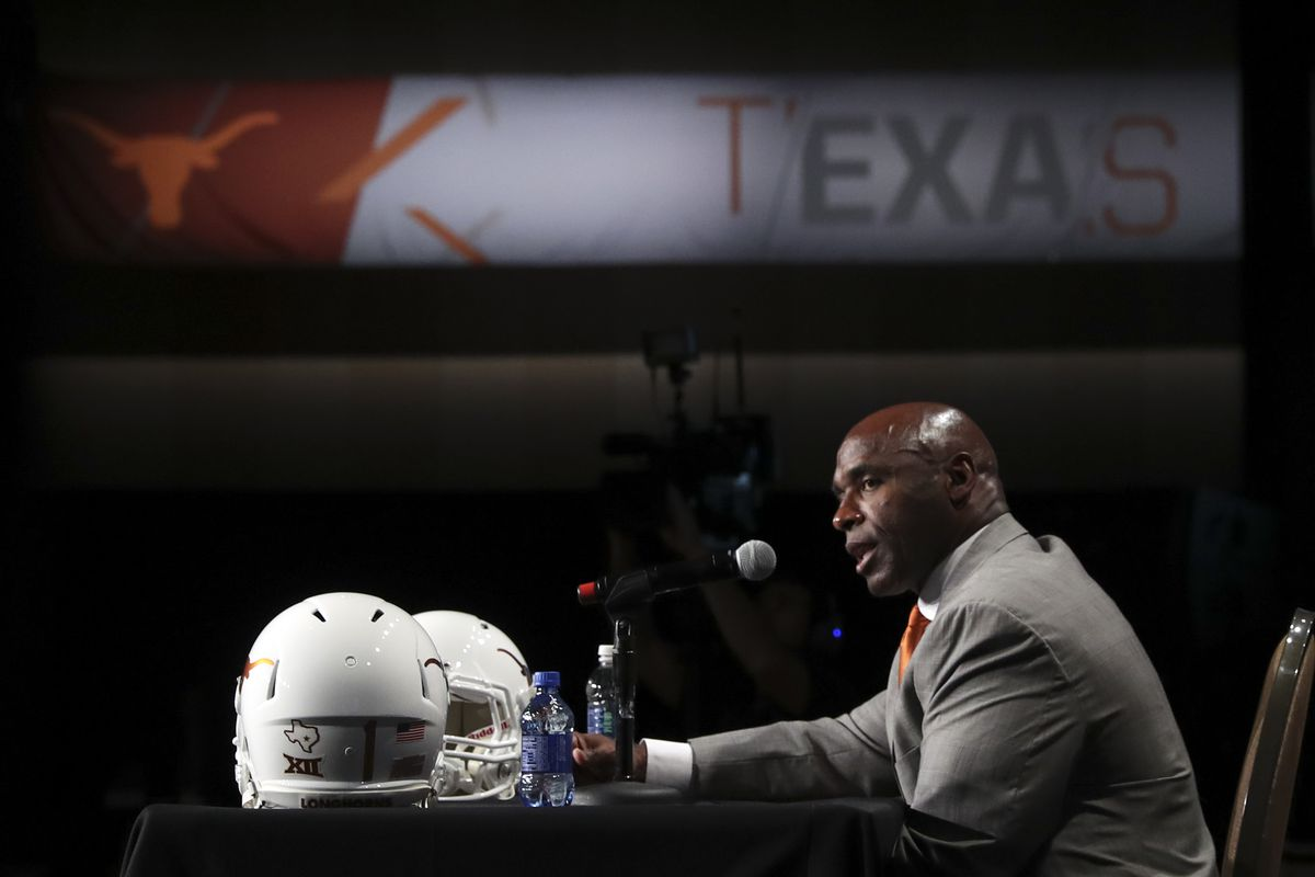 Coach Charlie Strong will once again return Texas to the top next year.