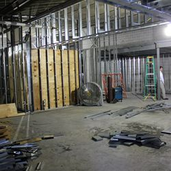 The main dining area will feature several different seating configurations.