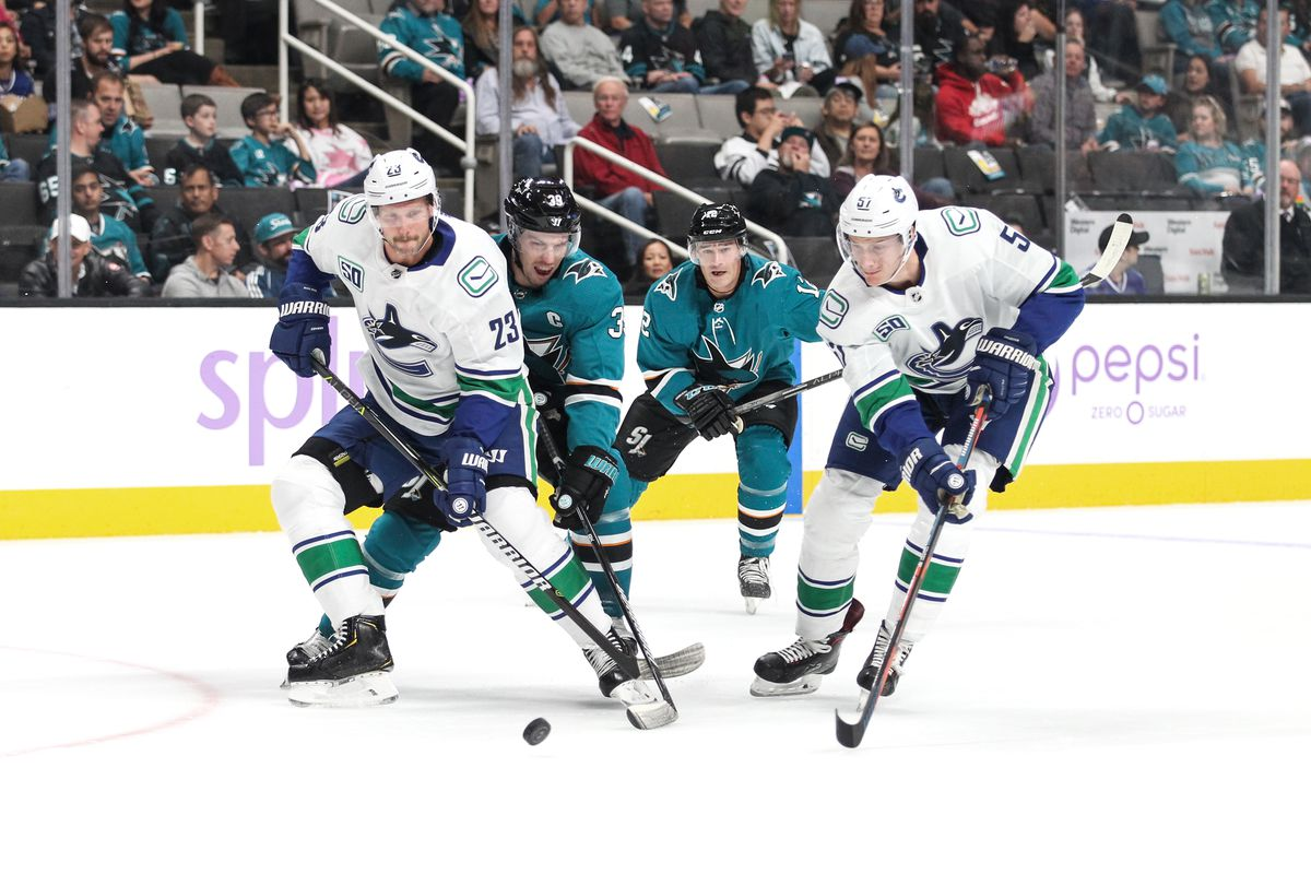 Vancouver Canucks at San Jose Sharks Preview: Game of Hughes proportions