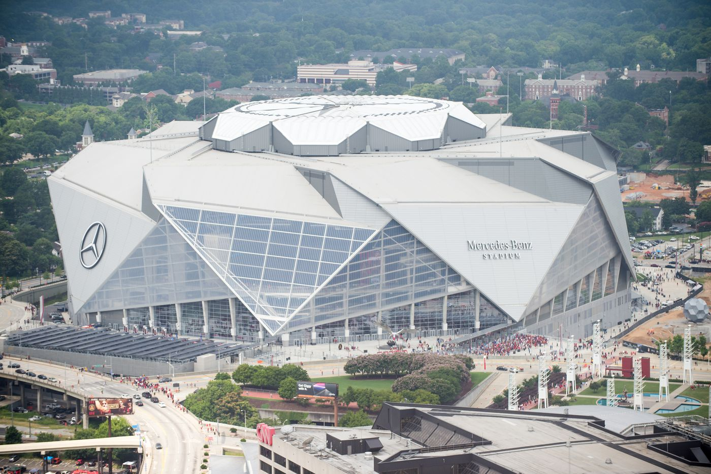 Super Bowl 53: Mercedes-Benz Stadium's 7 wildest features - SBNation.com