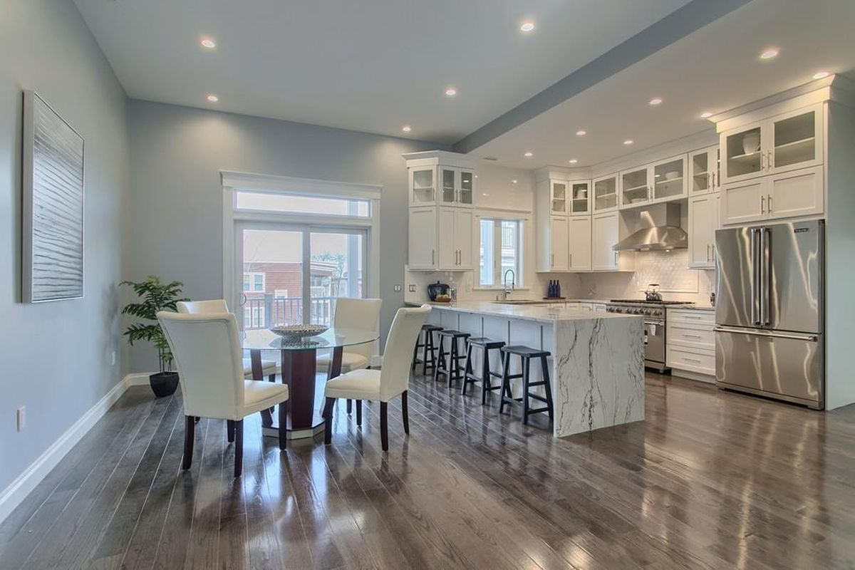 Renovated somerville townhouse with finished basement asks - Tips for finishing a basement ...