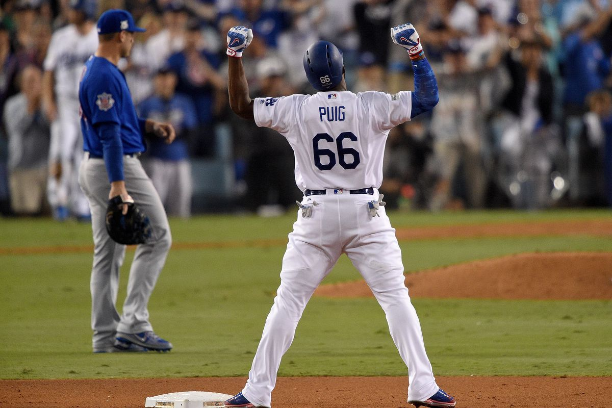 Don't Blame Yasiel Puig for Celebrating His Own Greatness ...