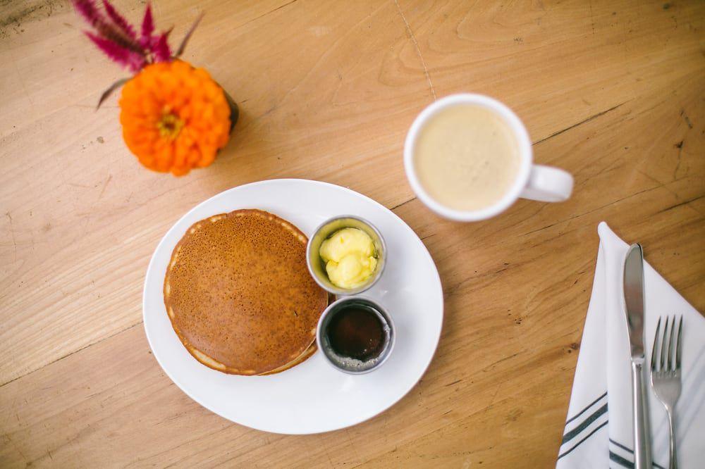 The gluten-free pancakes at Picnik