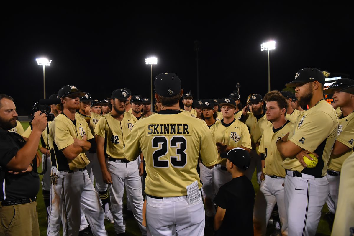 The UCF Baseball team wore Joe Skinner's name on its jerseys throughout its weekend series vs. Memphis.