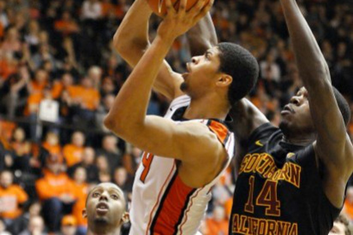 Oregon St. hopes to replicate last season's 19 point win over USC tonight at the Galen Center.