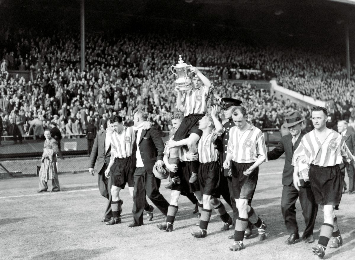 Soccer - FA Cup - Final - Sunderland v Preston North End