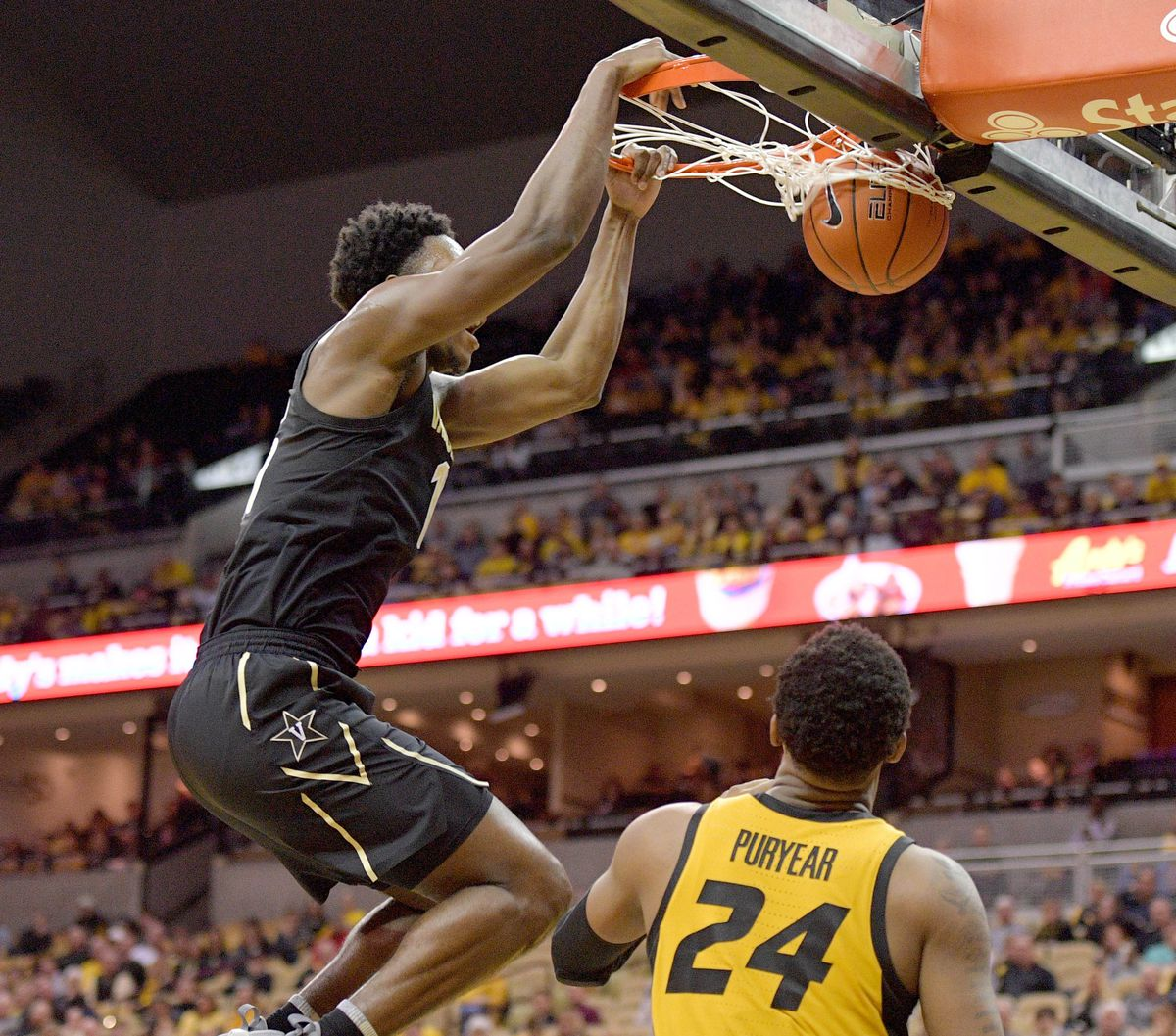 NCAA Basketball: Vanderbilt at Missouri