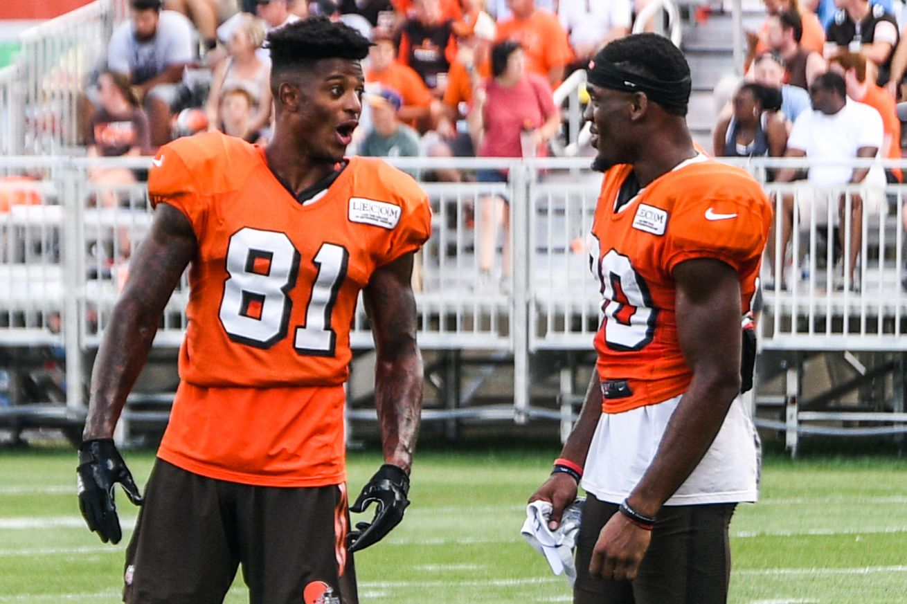 Cleveland Browns Training Camp Recap: Day 12 - Penalties and interceptions tick Hue Jackson off