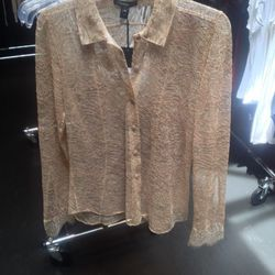 Lace shirt, $120 (was $925)
