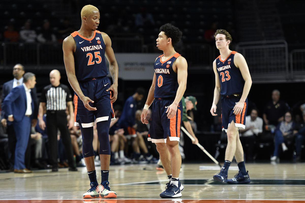 NCAA Basketball: Virginia at Miami-Florida