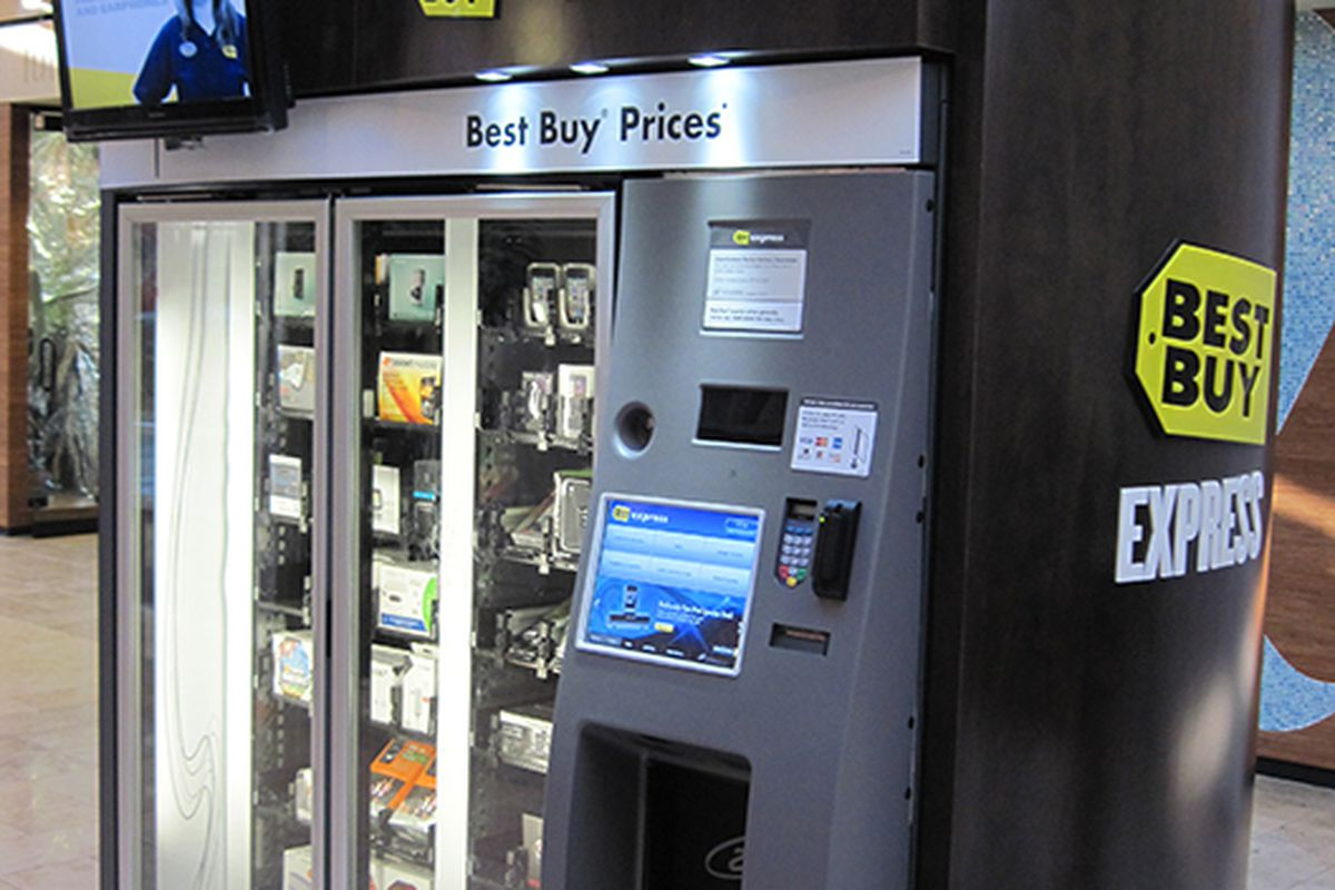 For Impulse Electronics: Boston's Best Buy Vending Machine ...