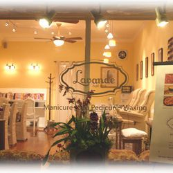 """Lavande Nail Spa, 113 Carl Street. Image via <a href=""""http://ww1.prweb.com/prfiles/2005/02/04/205723/Lavande_Outside.jpg"""">PRWeb</a>. When your tootsies need a break, drop into a chair at Lavande for the deluxe pedicure. The treatment incorporates a lavend"""