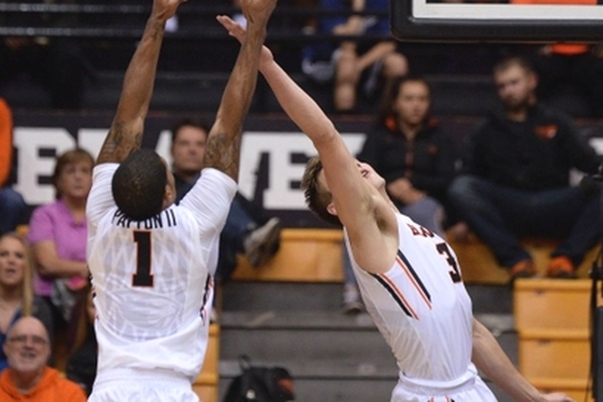 Gary Payton and Tres Tinkle will be after the ball again tonight at Gill.
