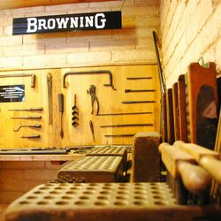 Pioneer Village is not simply a collection of buildings -- it is a collection of collections. One, with a section devoted to Utah gun innovators the Browning family, is a display showcasing weapons used by the 19th century military units and outlaws like Butch Cassidy and the Sundance Kid.