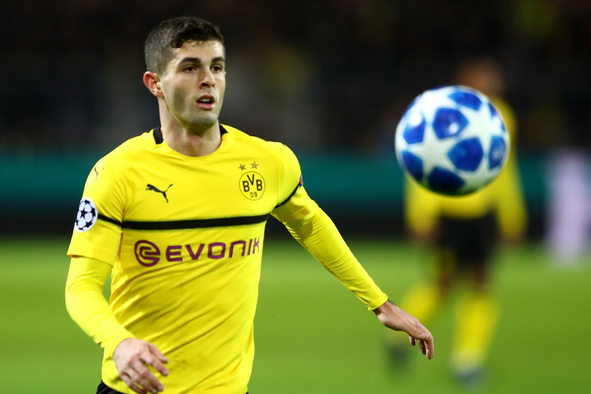 huge selection of e93b9 8f4a8 Chelsea balking at Christian Pulisic's price; Benjamin ...