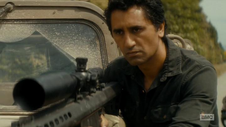Travis won't shoot zombies on Fear the Walking Dead.